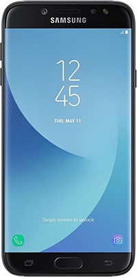 Galaxy J7 Pro Black On